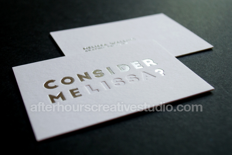 Luxury Business Cards August 2015