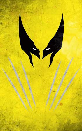 Poster Super Hero dengan Desain Simple