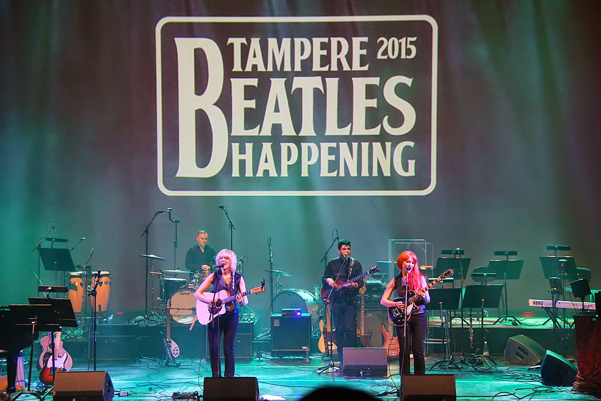 Tampere Beatles Happening 2015 MonaLisa Twins