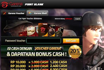 Cara Cepat Isi Cash PB Garena Indonesia Tanpa Konversi Shell