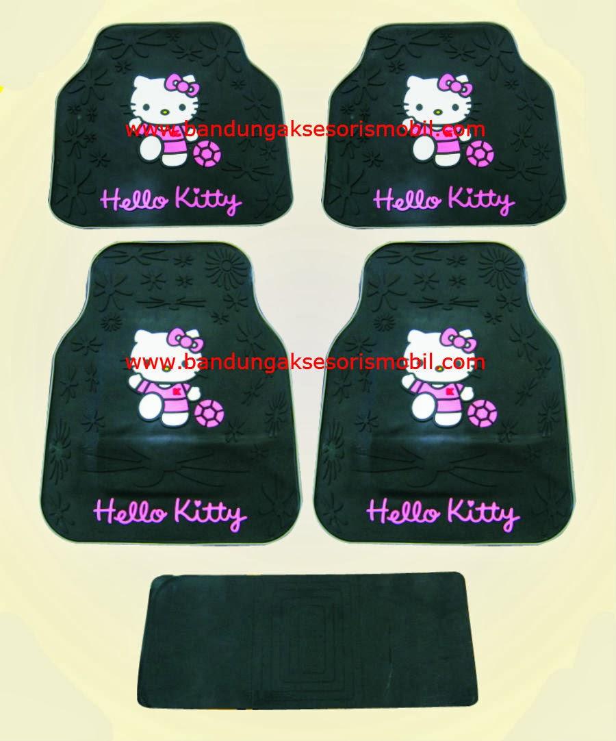 Karpet Hello Kitty Full Black