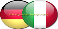 Hasil Jerman vs Italia | Akhir Skor | Semi Final Euro Jum'at 29 Juni 2012