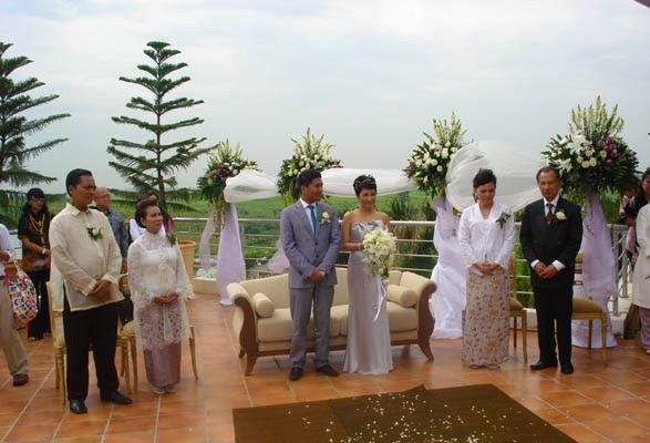 Pernikahan di San Diego Hills