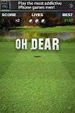 Golf Putt Pro Miss
