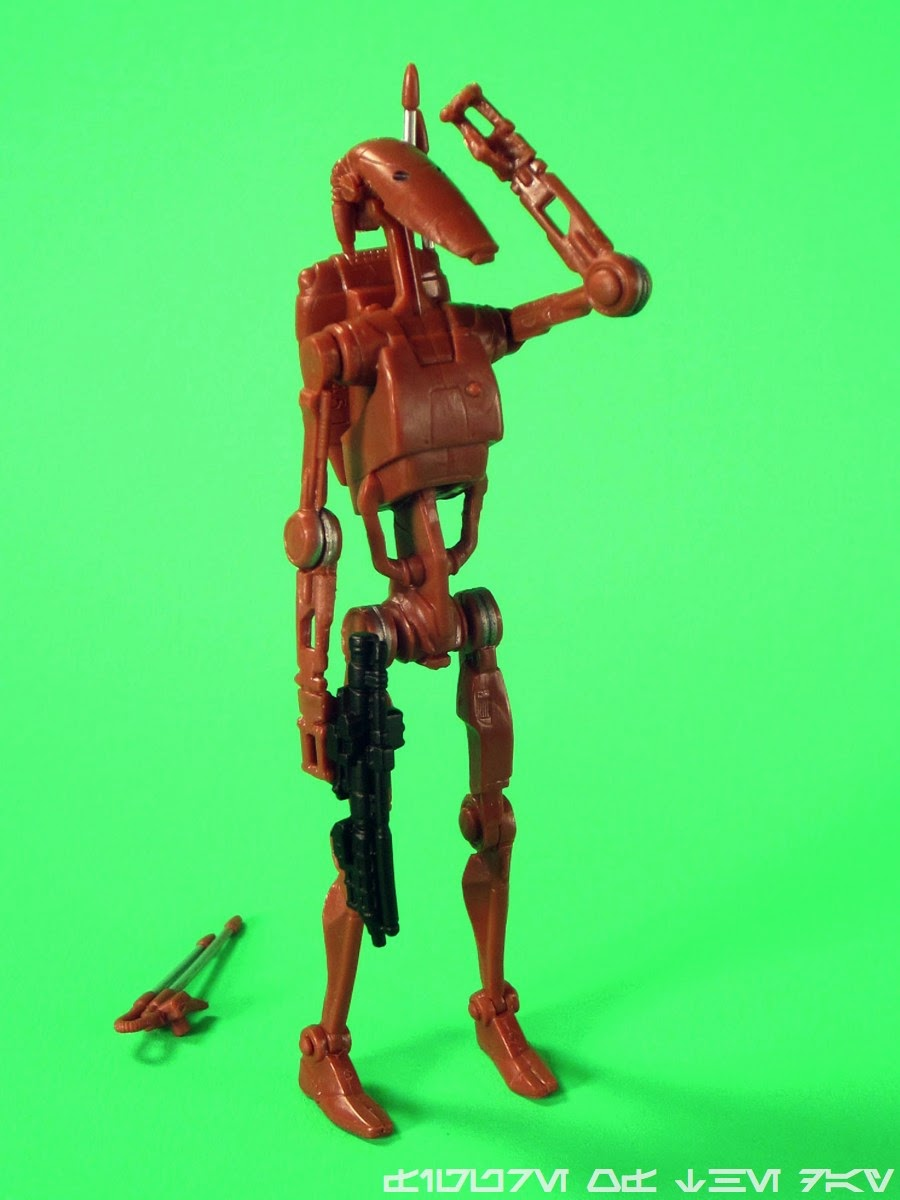 Legacy RED BATTLE DROID Star Wars Exclusive Amazon Droid Factory