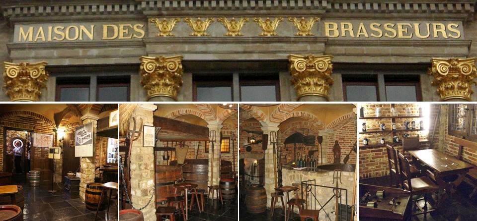 Musée des Brasseurs belges - Maison des Brasseurs - Grand-Place de Bruxelles - Bruxelles-Bruxellons