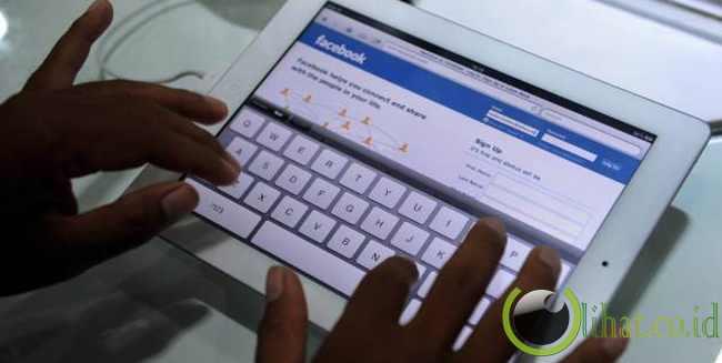 Jejaring sosial favorit pengguna iPad