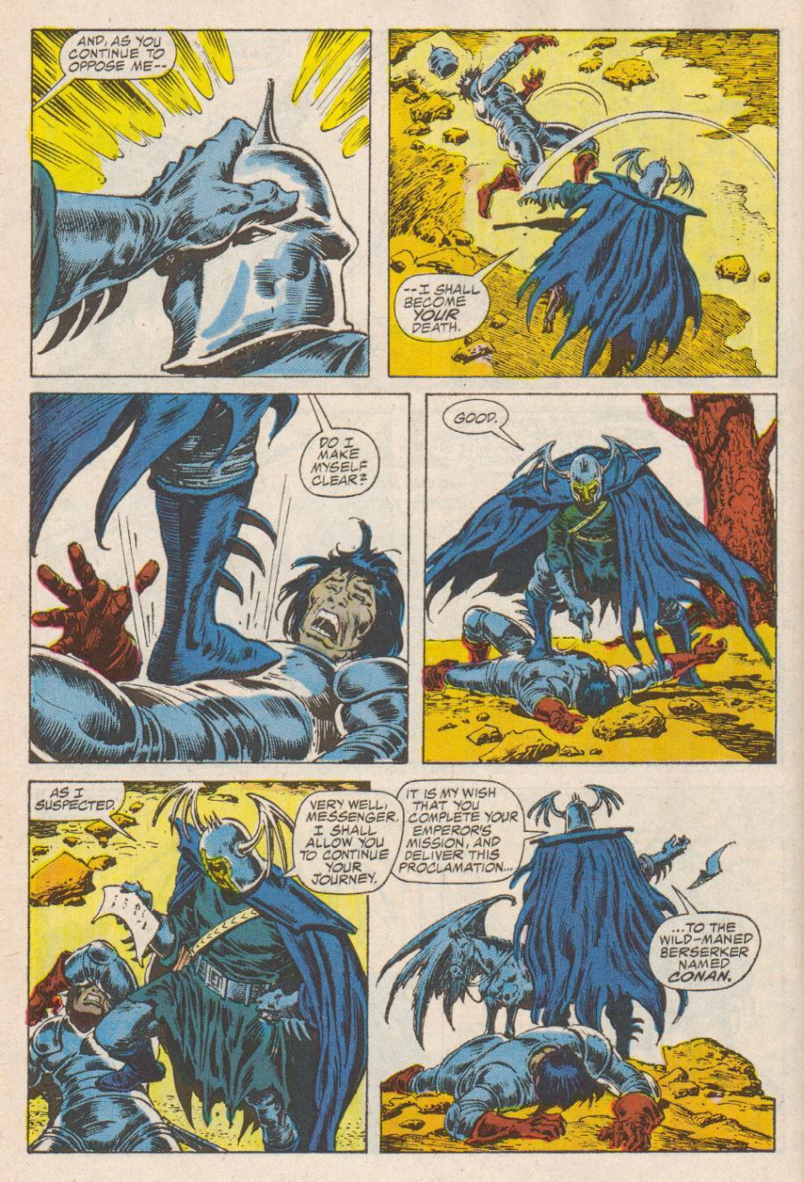 Conan the Barbarian (1970) Issue #190 #202 - English 5