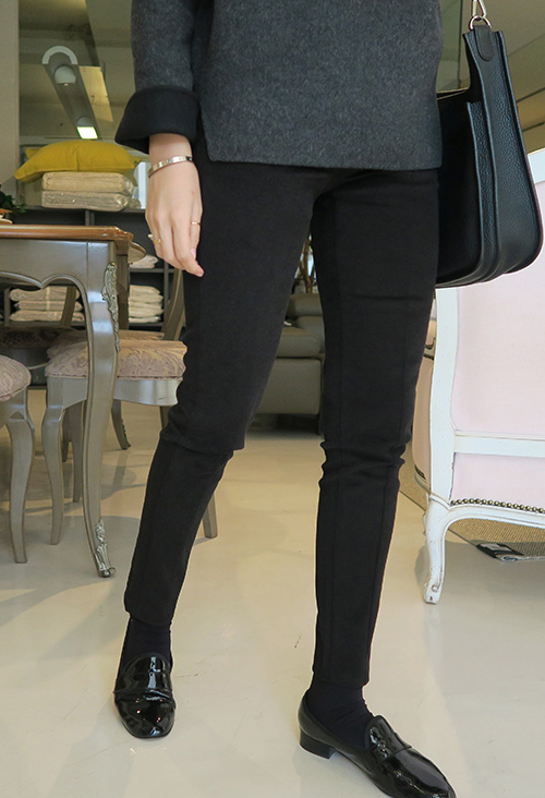 Seamed Slim Pants