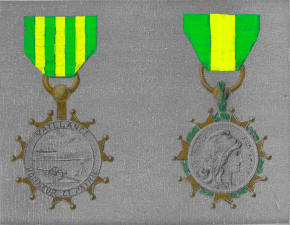 Projet de médaille