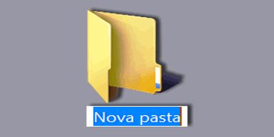nova pasta