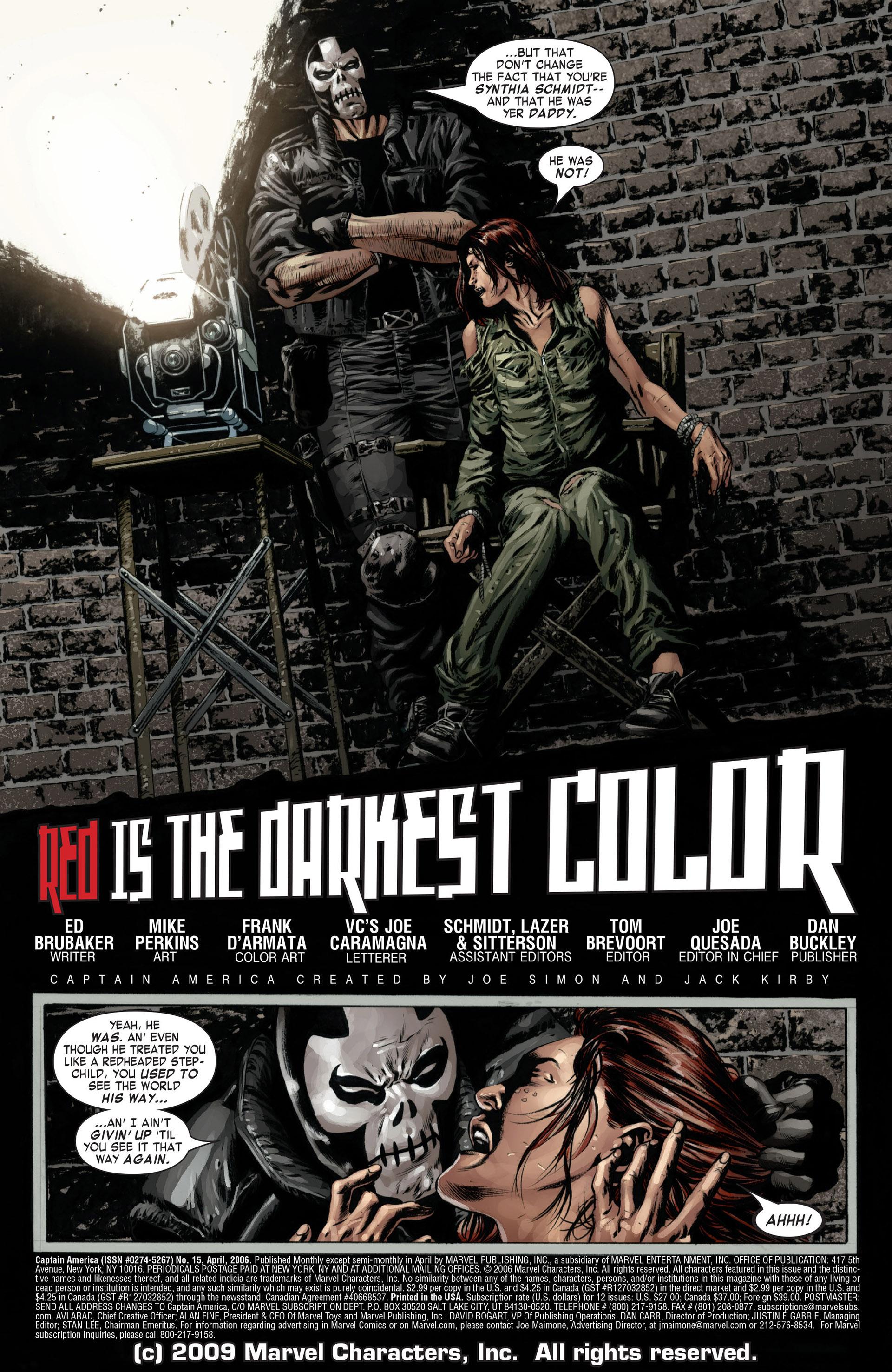 Captain America (2005) Issue #15 #15 - English 6