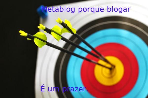 Metablog um tiro no alvo de seus objetivos