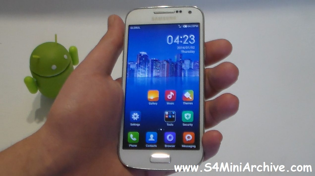 Recently I stumbled upon this MIUI V5 port for the Galaxy S4 mini at ...