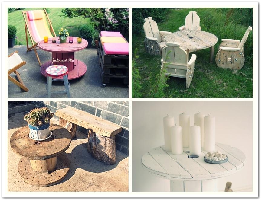 Decora reciclando ideas para la terraza muebles - Muebles naranjo ingenio ...