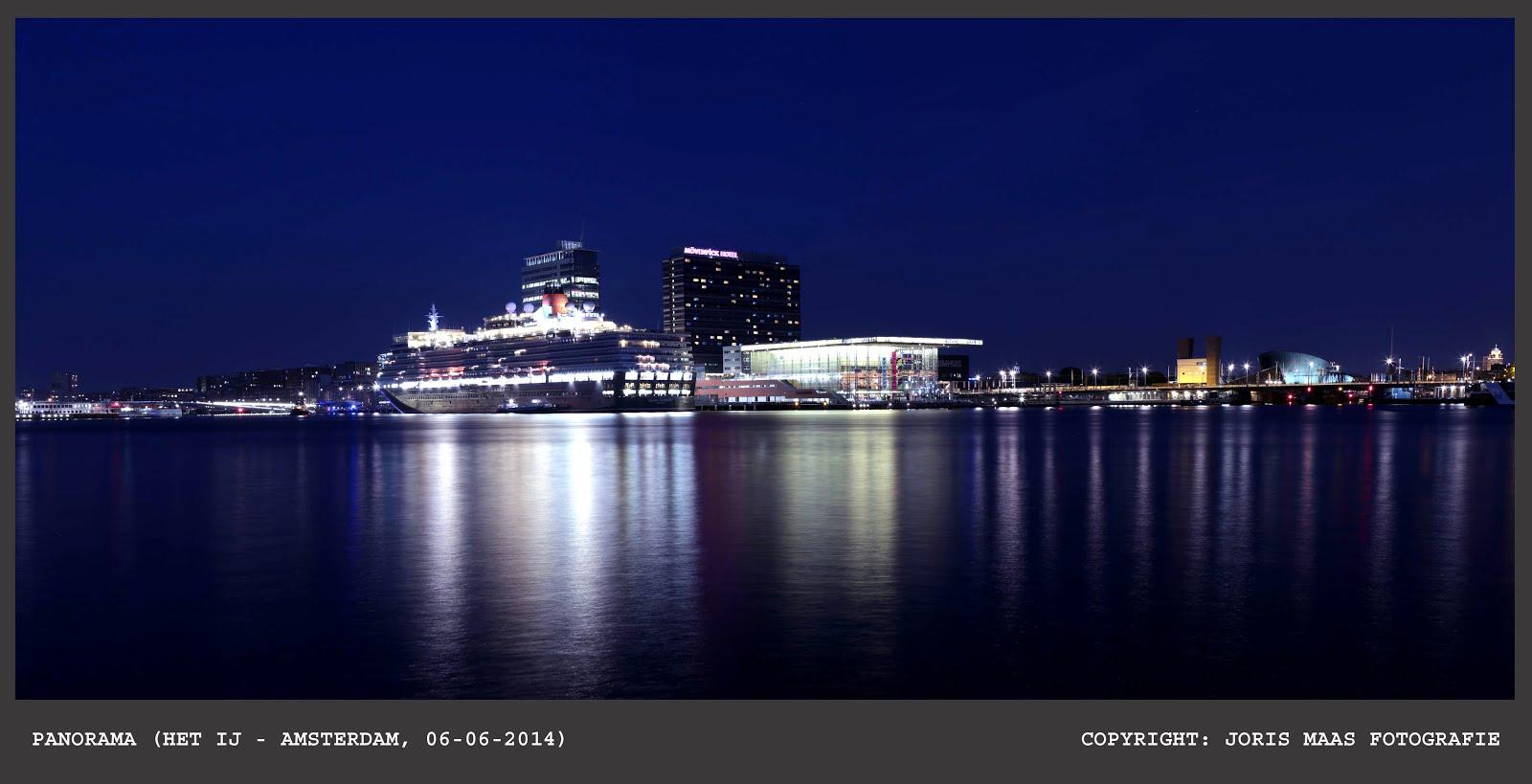 Amsterdam - Het IJ (Cruiseship)