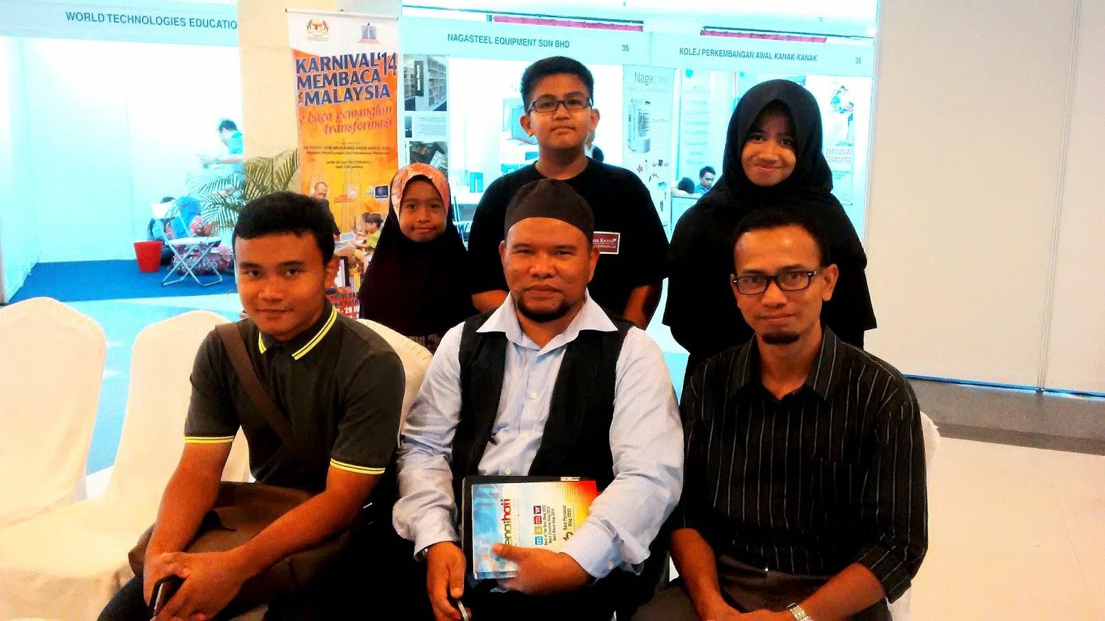 Sesi Bersama Bloggers, Karnival Membaca 1 Malaysia 2014, Denaihati, PNM, PWTC