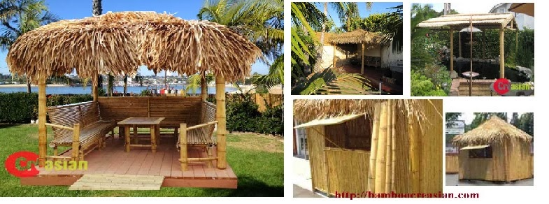 Quality Bamboo And Asian Thatch: Bamboo Hut