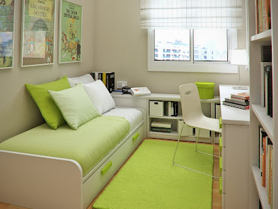 Cara menata kamar tidur yang sempit sederhana