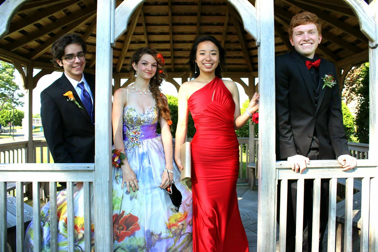 High School Senior Prom Pictures