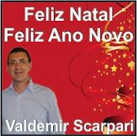 Laranjeiras do Sul:Valdemir Scarpari deseja a todos um Feliz Natal e um próspero ano novo