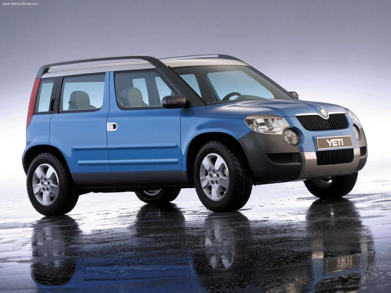 2005 skoda yeti concept. Black Bedroom Furniture Sets. Home Design Ideas