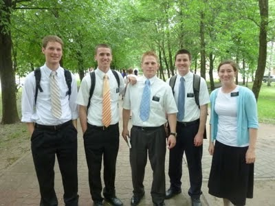 MTC Missionaries in Estonia