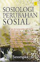 toko buku rahma: buku SOSIOLOGI PERUBAHAN SOSIAL, pengarang piotr sztompka, penerbit prenada