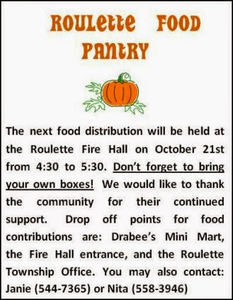 10-21 Roulette Food Pantry