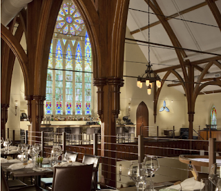 Church-Turned-Restaurant Leaves Diners In a State of 'Grace'