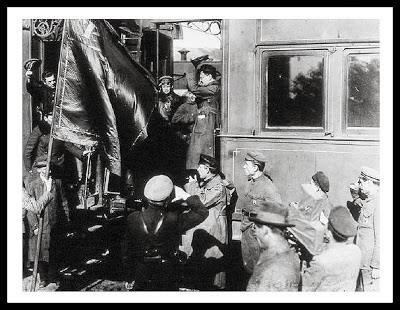 trotsky tren bolchevique guerra rusa rusia