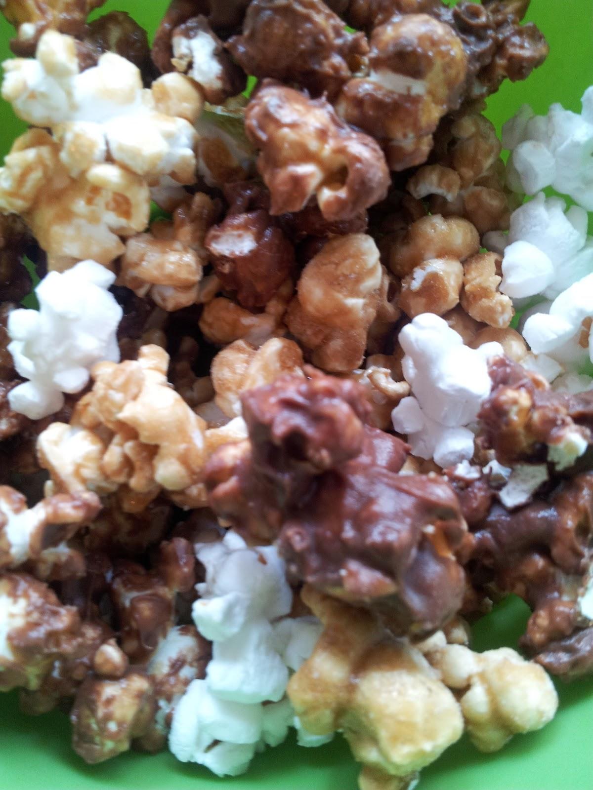 how to make air popped popcorn taste good