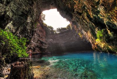 Caverna Mellisani – Grécia