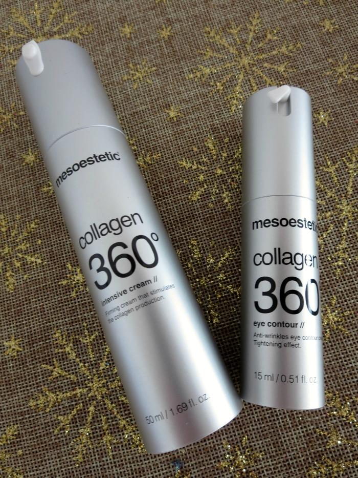 mesoestetic collagen 360º intensive cream +  eye contour