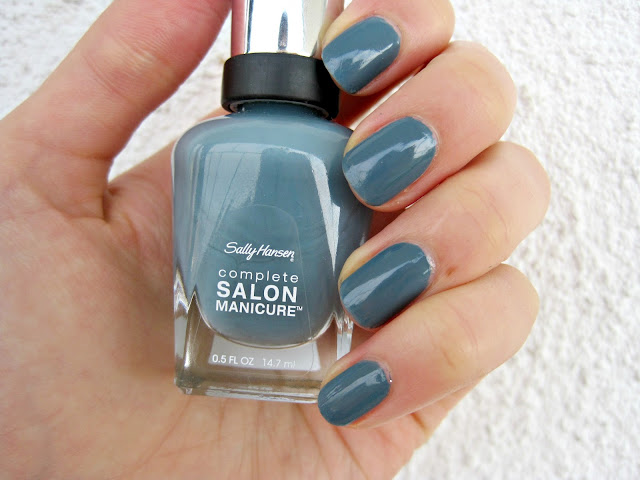 Sally Hansen Gray by gray swatch