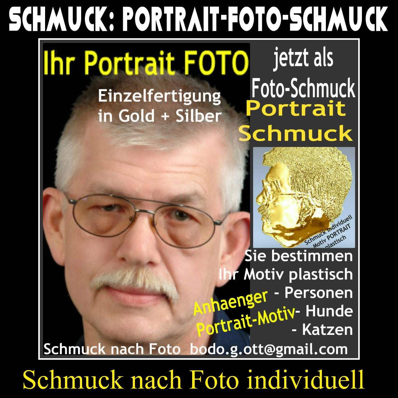 Portraitschmuck mit Motiv nach Foto