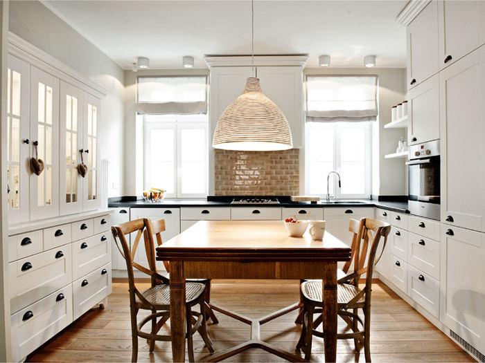 Una Cocina en Blanco y Madera / A White Kitchen | desde my ventana ...