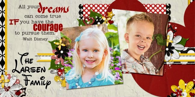 Larsen Family Digital Scrapbook