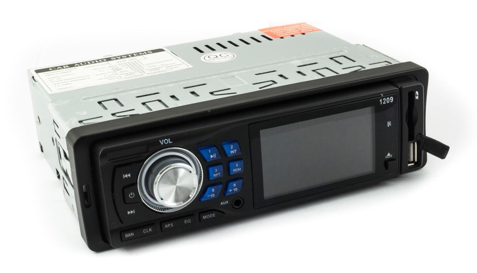 autoradio stereo auto radio frontalino estraibile fm mpd usb sd aux 1209e ingrosso cinese. Black Bedroom Furniture Sets. Home Design Ideas