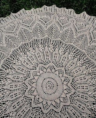 Free Crochet Pattern For Circular Baby Shawl Pakbit For