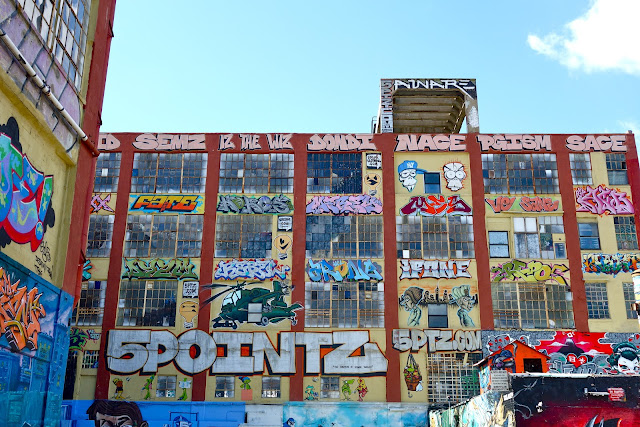5pointz, graffiti walls, Long Island City, LIC