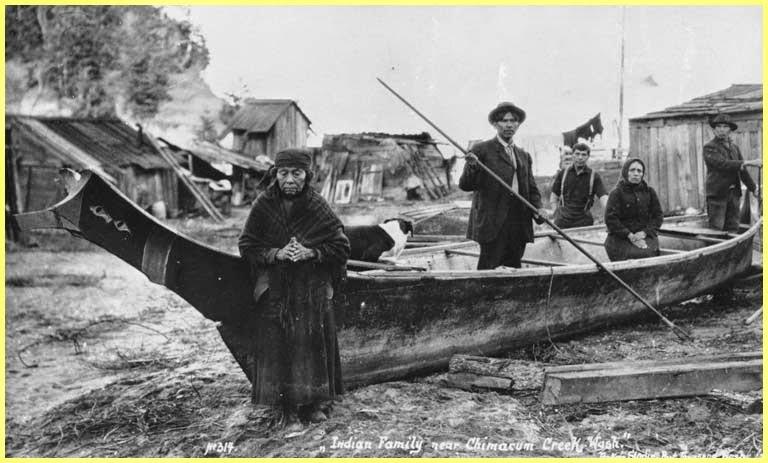 Nativos canoas