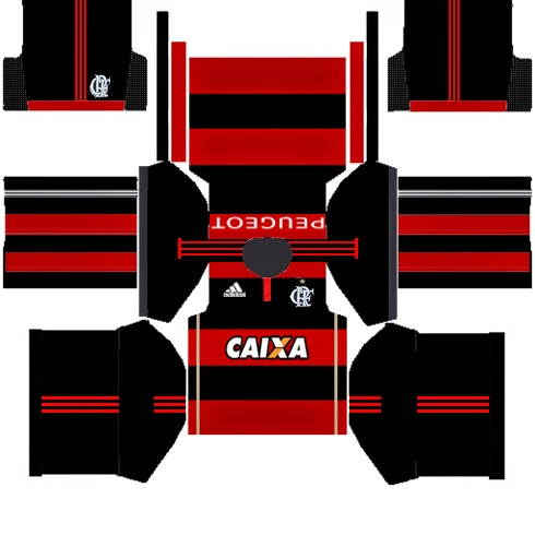 dream league flamengo 512x512 kits flamengo