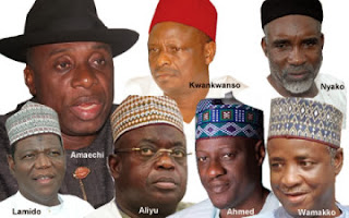 Rebel Governors Set To Meet Tonight To Discuss Their Defection. APC Could Be Chosen Home