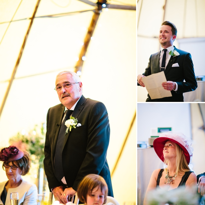 Louise and Oli's chic teepee festival wedding by STUDIO 1208