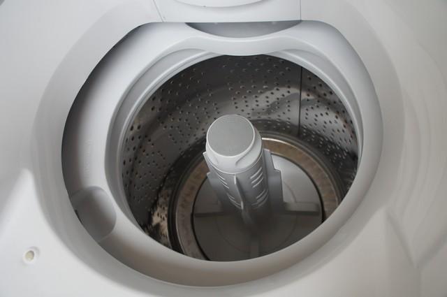 Cesto de inox da minha lavadora de roupas