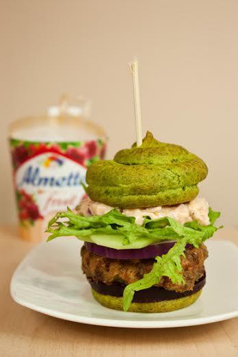 zielone ptysie , hamburger , salsa , serek owocowy , konkurs