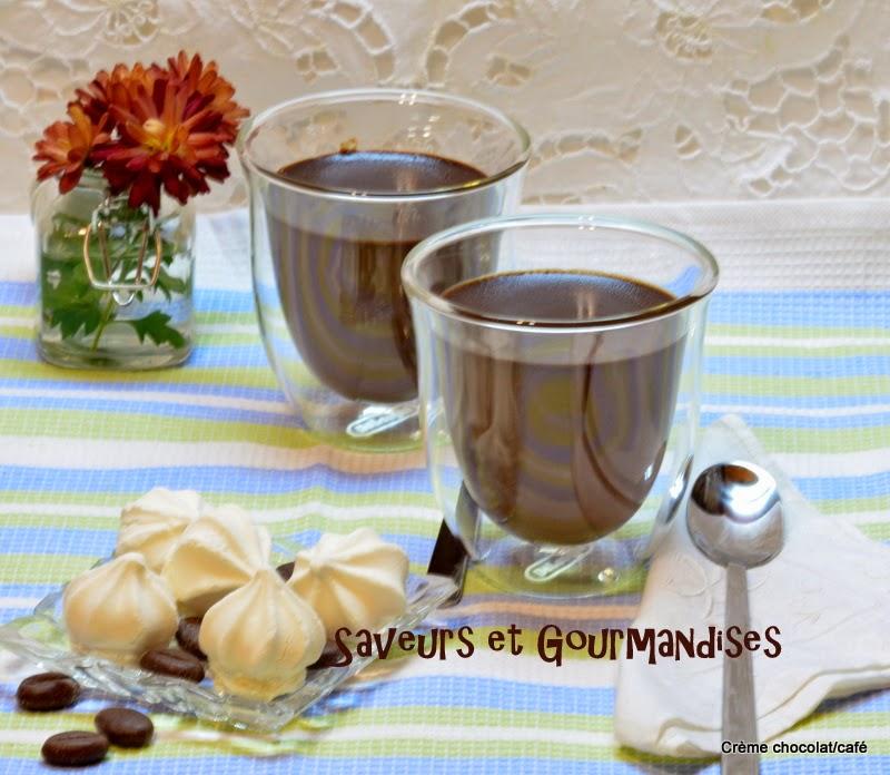 Crème au chocolat/café