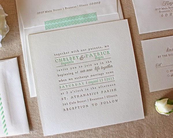 Wedding Invitation Wording Samples 98 Good Text Block Letterpress Wedding