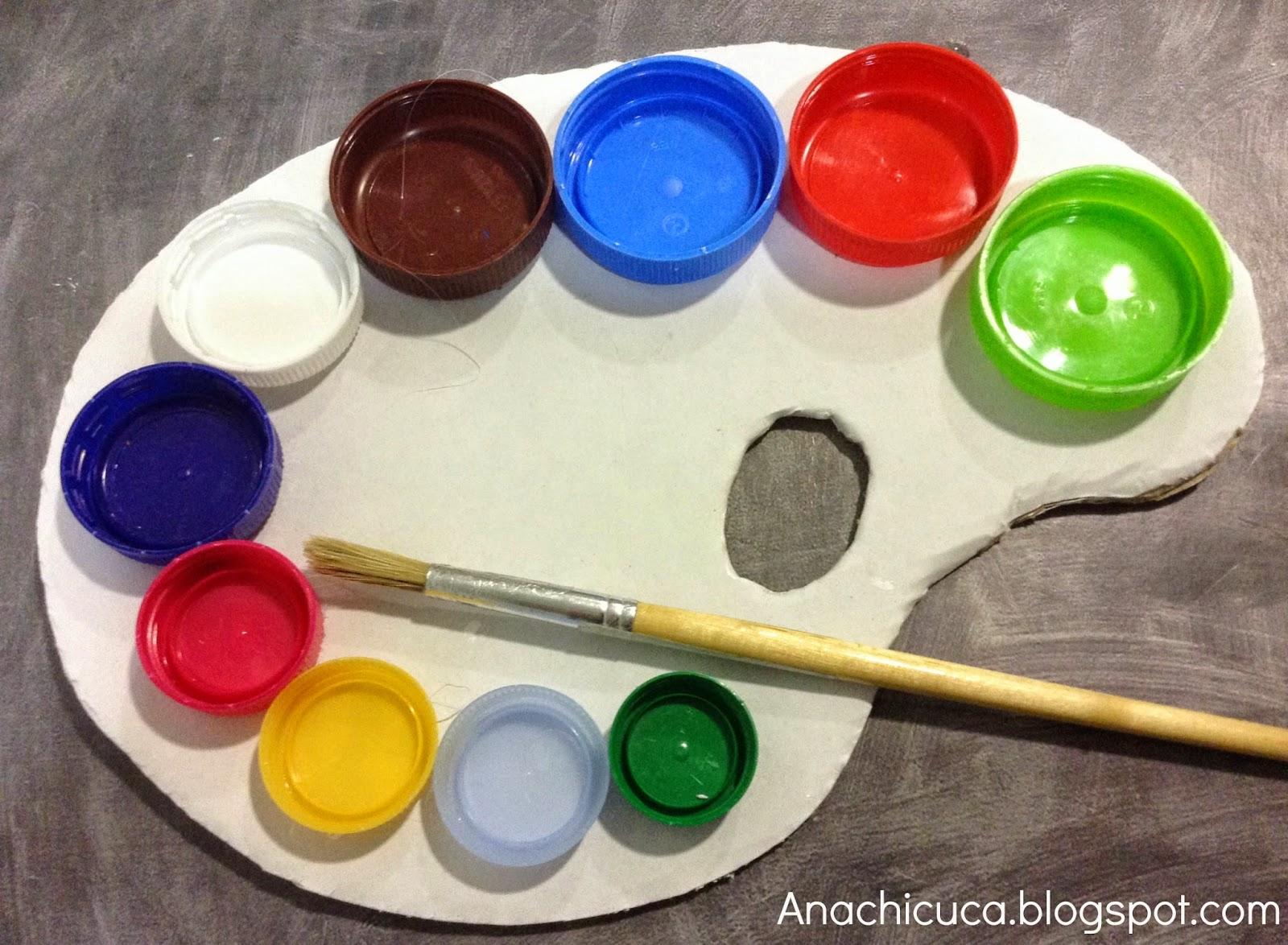 Anachicuca paleta de pintor diogenera - Paleta de pinturas ...